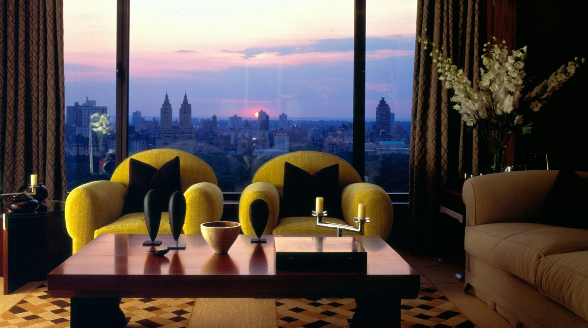 Carlyle NY Empire Suite Skyline View