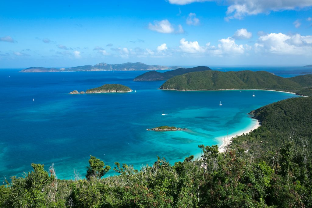 US Virgin Islands Beaches